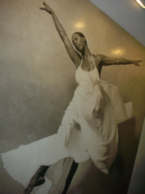 mosaic of Judith Jamison at Ailey