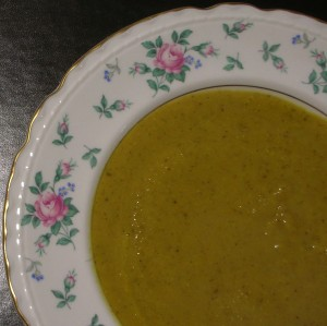 C&Z's Soupe de Chou-Fleur, Curcuma, et Noisette - NOTE, mine is much yellower than Clotilde's