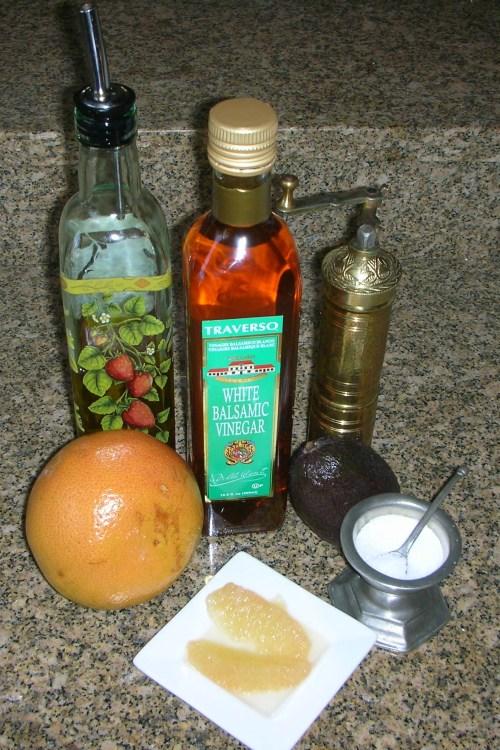 arugula grapefruit avocado ingredients