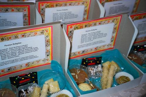 ... filled with lots of (Sephardic) Persian goodies...