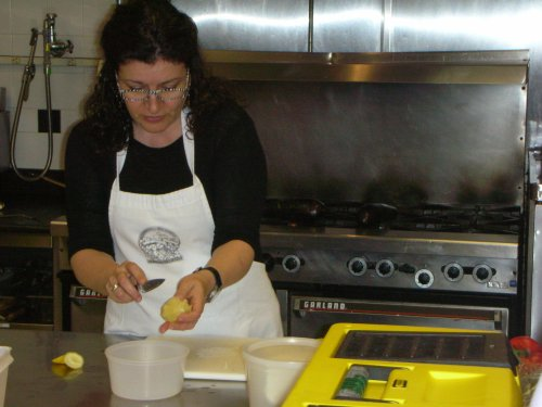 "Janna Gur making lemon ""fillets"" (supremes)"