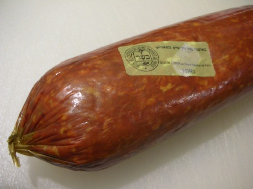 kosher french chorizo