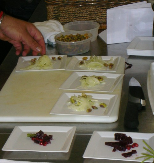 Erez Komarovsky's monochromatic salads