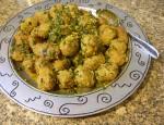 chems al aachi/boulettes de viande et sauce crepescule/meatballs with saffron sunset sauce)