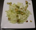 Erez Komarovsky's monochromatic Fennel and Pistachio Salad