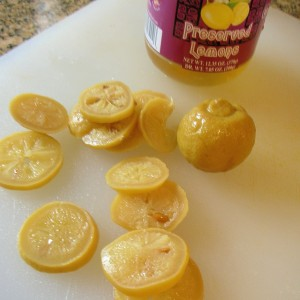 jarred preserved lemons