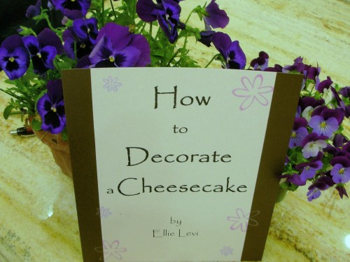 How to Decorate Cheesecake