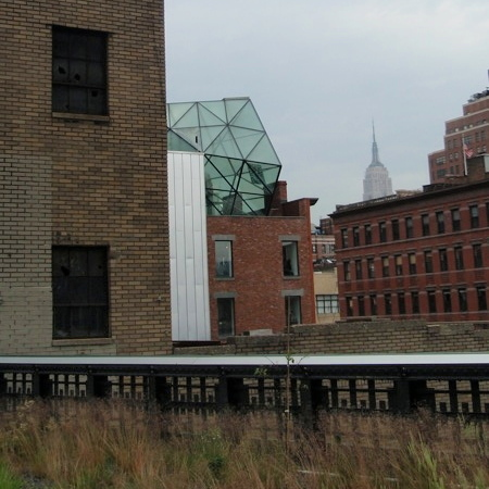DvF studio as seen from the High Line (picture by RySq)