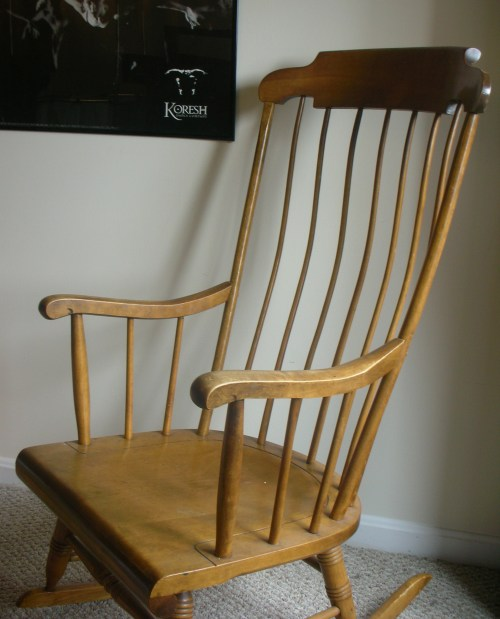 Bubbie's rocking chair