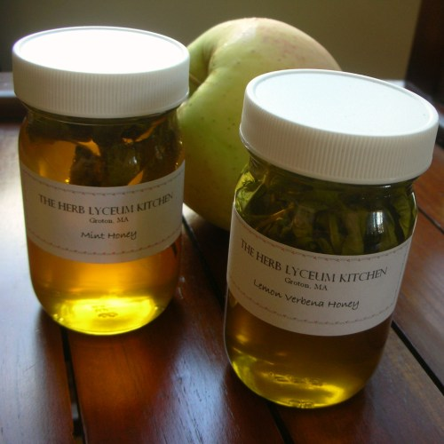 Infused honey from Herb Lyceum
