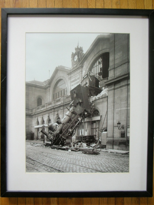 L. Mercier - Accident gare de l'Ouest le 22 octobre 1895