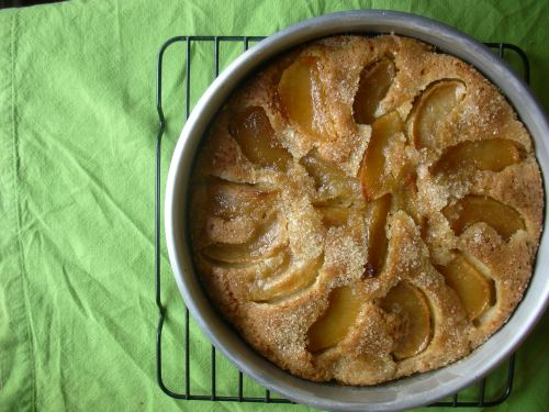 second apple cake