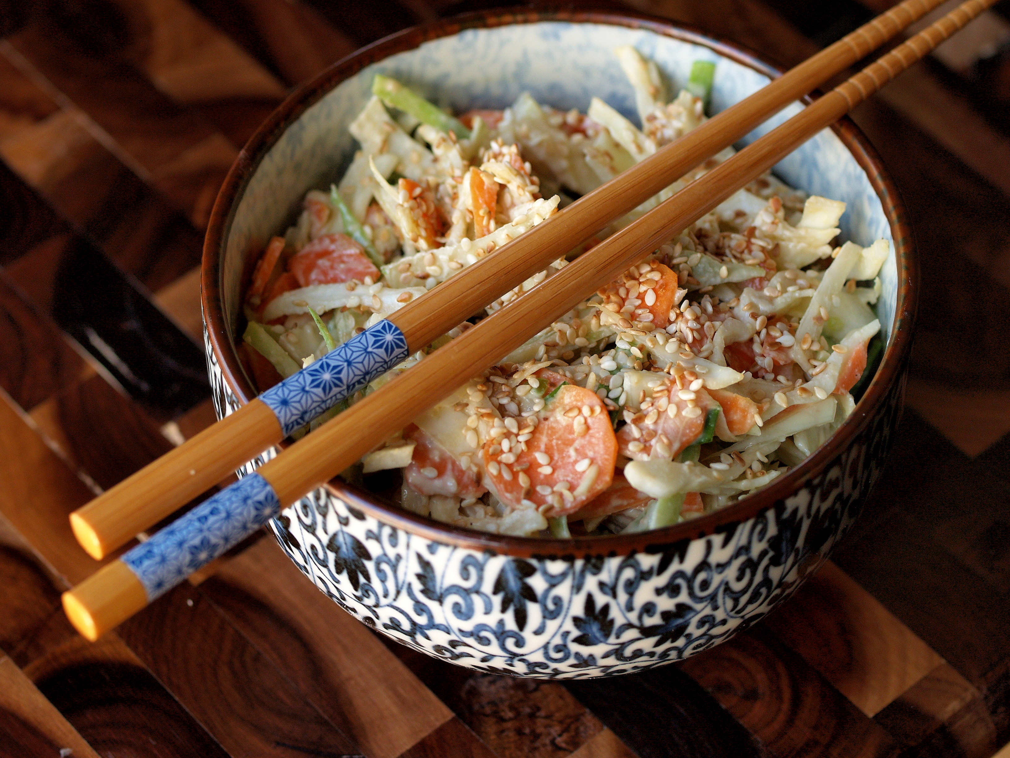 miso slaw with with sesame miso slaw asian slaw salad miso ginger ...