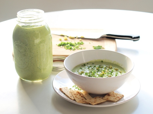 cucumber avocado soup