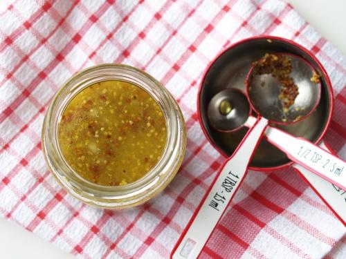 Buvette mustard vinaigrette