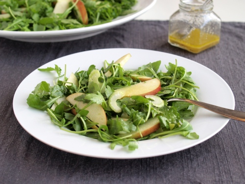 apple celery arugula salad