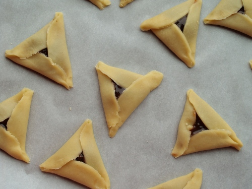 hamantashen with jam