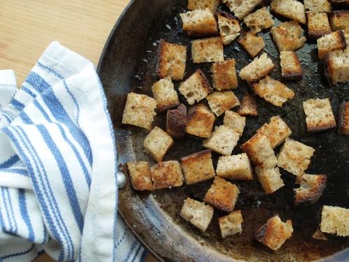 rye croutons
