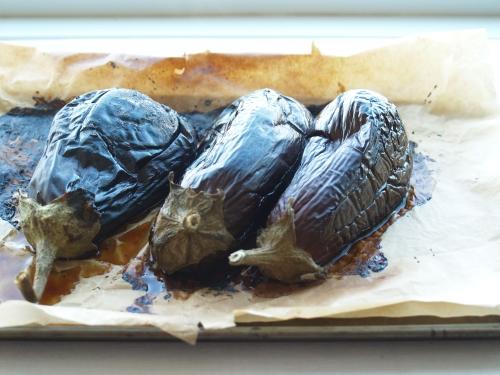 burnt eggplant