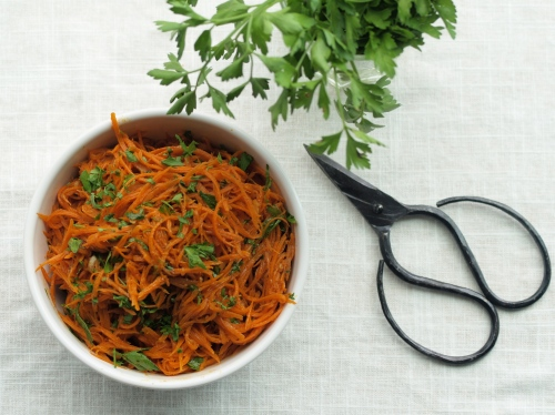 spicy Tunisian carrot salad