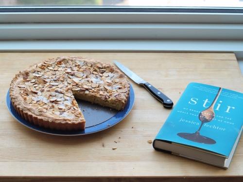 Jess Fechtor's butter almond cake