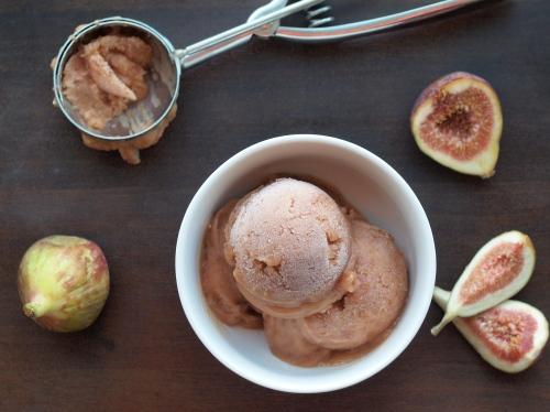 fig sorbet