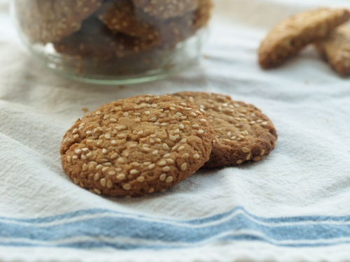 tehina cookies